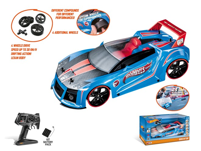63353 - HOT WHEELS QUICK N' SIK