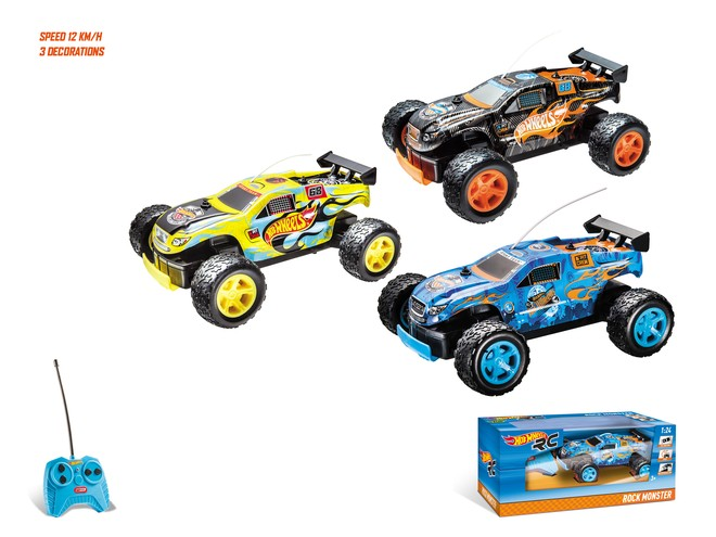 63339 - HOT WHEELS ROCK MONSTER