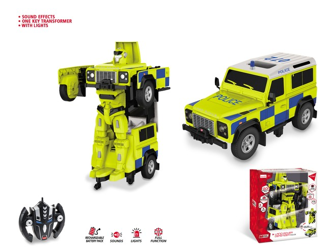 63524 - LAND ROVER DEFENDER POLICE