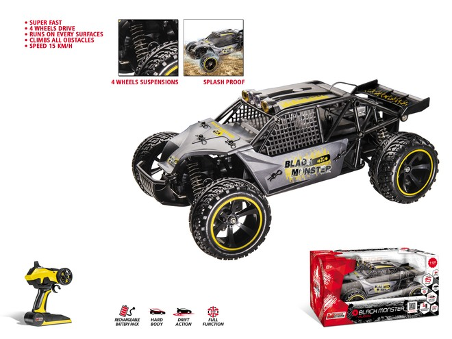 63450 - BUGGY BLACK MONSTER