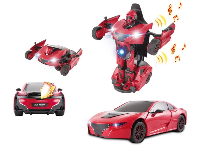52010 - DIE CAST TRANSFORMABLE - with LIGHTS & SOUND