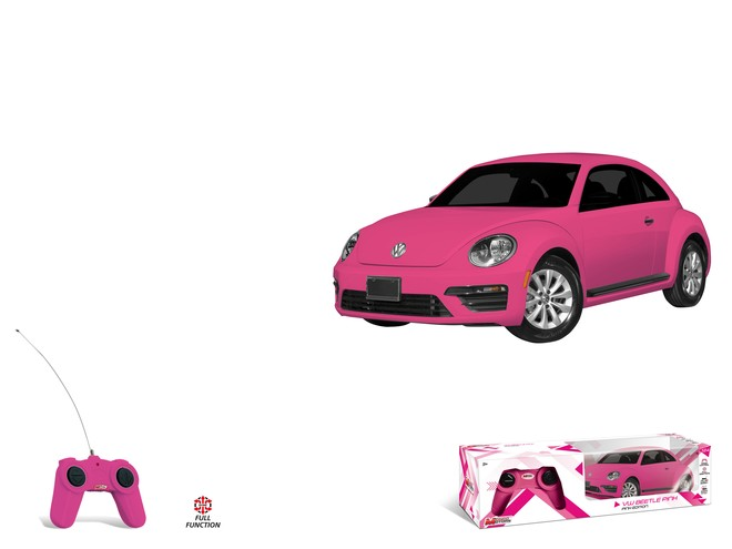 63551 - VW NEW BEETLE - pink edition