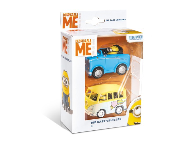 53200 - MINIONS VEHICLES - 2 PCS