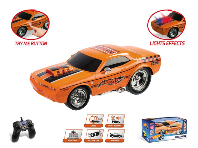 63507 - HOT WHEELS MUSCLE KING