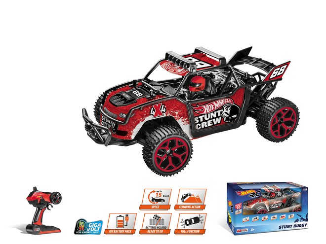 63444 - HOT WHEELS STUNT BUGGY