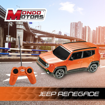 Le Jeep Renegade, dans sa version radiocommandée
