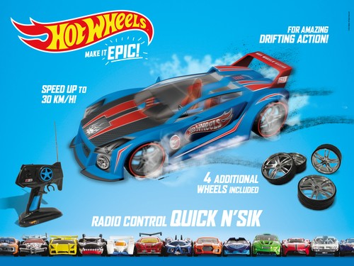 HOT WHEELS QUICK N' SIK